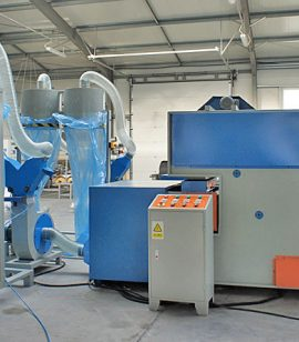 Ball Fiber Machine - textile-machines.co.uk