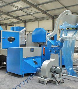 1. Bale Fiber Feeder & Carding Machine