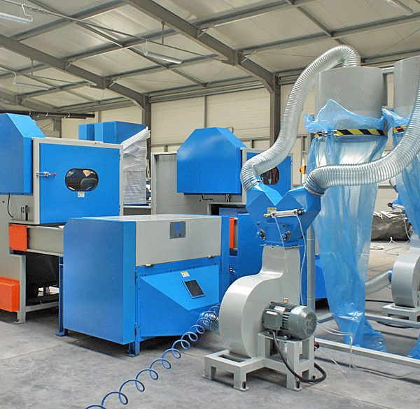 1. Bale Fiber Feeder & Carding Machine