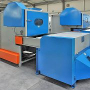 2. Bale Fiber Feeder & Carding Machine