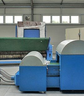 2. Pulping Machine of textile waste and other (two units pulping machine)