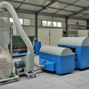 5. Pulping Machine of textile waste and other (two units pulping machine)