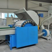 8. Textile, waste and other stuff pulping machine
